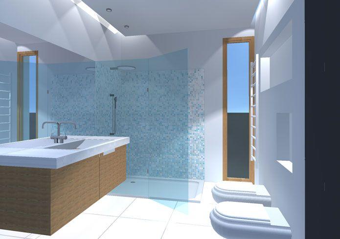 Risultati immagini per doccia aperta controsoffitto