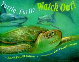 """Turtle, Turtle, Watch Out!"" by April Pulley Sayre >> This exciting story vividl…"