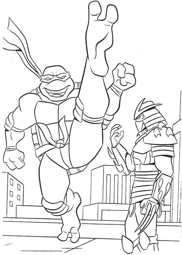40 best Ninja Turtle Coloring Page images on Pinterest Ninja