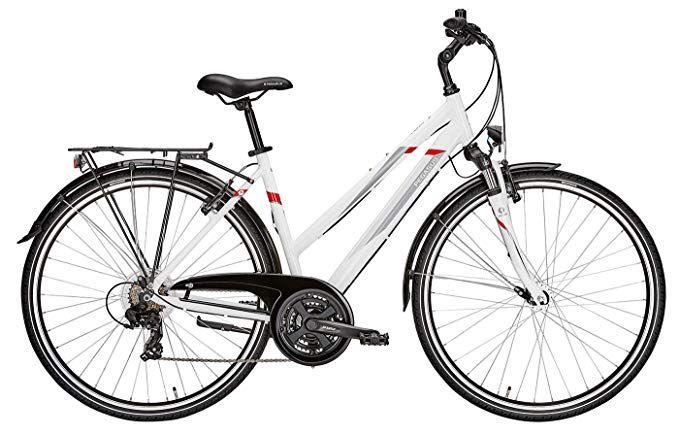 Damen Fahrrad 28 Zoll Weiss Pegasus Avanti Trekkingbike Shimano