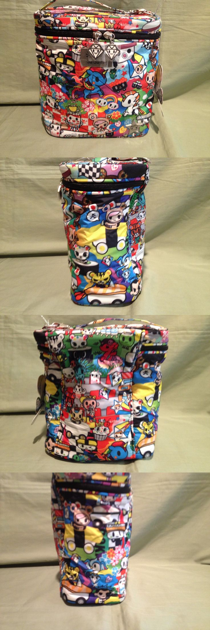 Diaper Bags 146530: Nip Ju-Ju-Be Fuel Cell Lunch Bag Tokidoki Sushi Cars Free Shipping New Print -> BUY IT NOW ONLY: $31 on eBay!