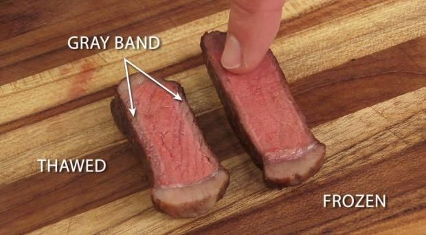 Cooking with fresh beef will always be the ultimate way to prepare a steak, but it turns out that using a frozen steak is your next-best option.