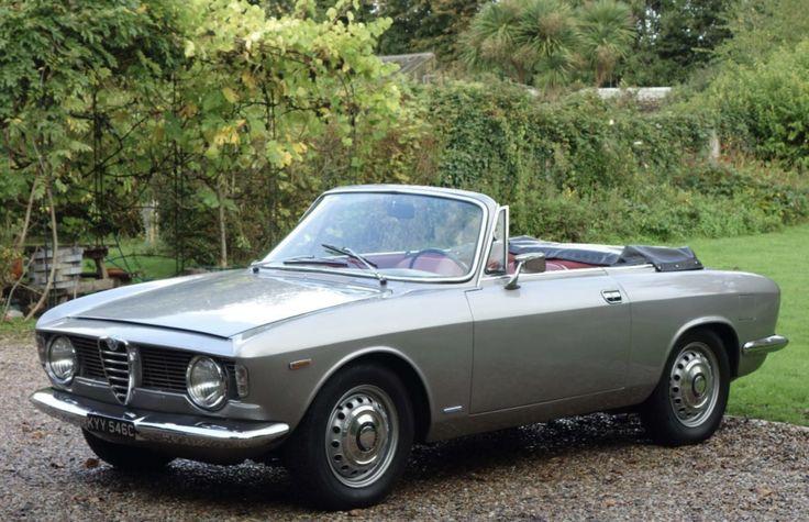 One Of 998 Touring Cabrios Restored Alfa Romeo Giulia Gtc Alfa Romeo Alfa Romeo Giulia Classic Cars