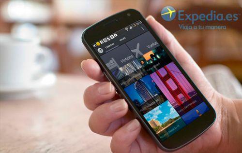 Cupón descuento del 5% en tu reserva con la App de Expedia