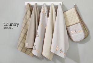 Duck Print Tea Towels