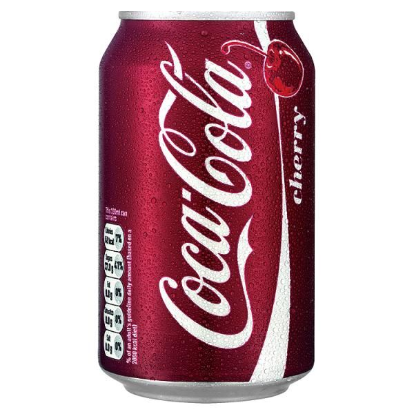 Cherry Coke! I like it also tasted in Eastern Europe!