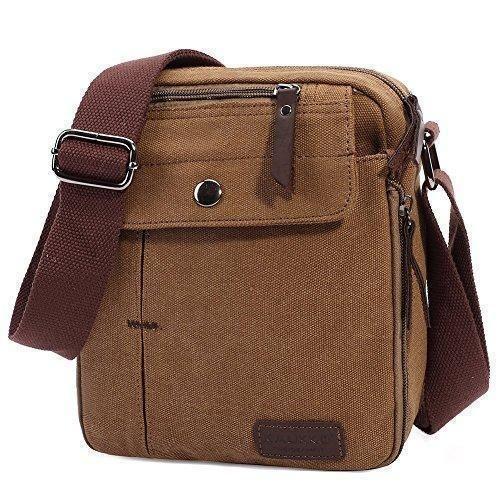 Oferta: 69.99€ Dto: -61%. Comprar Ofertas de KAUKKO hombres de la lona bolsas de hombro bolsa de mensajero (Caqui) barato. ¡Mira las ofertas!