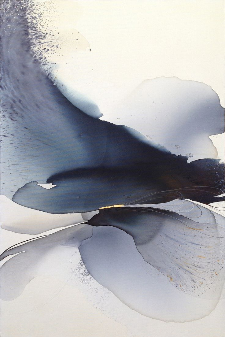 "lifeonsundays: """"Infinity"" Watercolor/ink on Canvas (47,24"" x 31,5"") by Sabrina Garrasi - madlendesign.com """