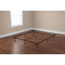 Walmart: Mainstays Adjustable Bed Frames Metal Bed Frame and Rail