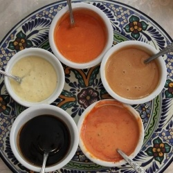 Chicken Wing Sauces by curtsdelectables