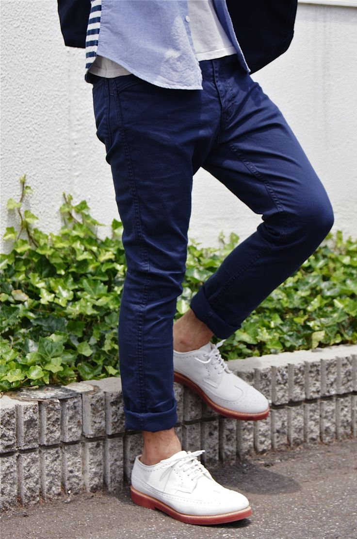 The - StreetStyleShoes, Clothing Ajit, Blue, Summer Style, Men Style, White, Men Fashion, Man Stylin, Men Apparel