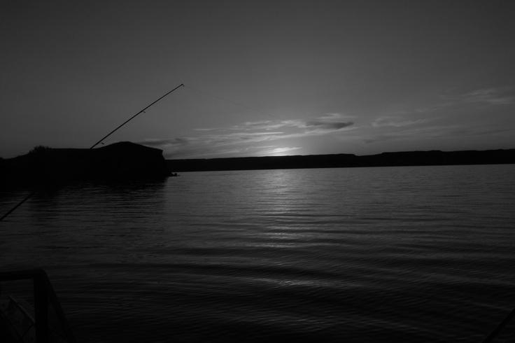 Lake Diefenbaker, Saskatchewan. Beautiful Evening!