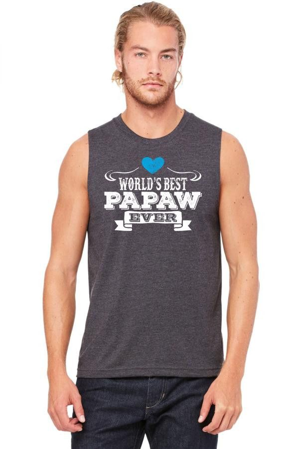 worlds best papaw ever 1 Muscle Tank