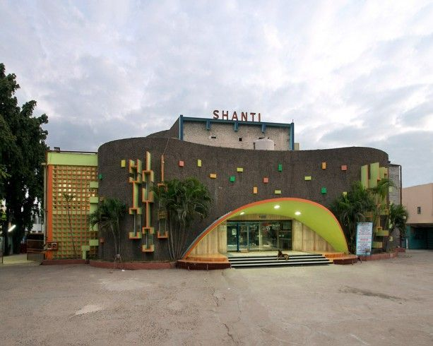 Art Deco Cinemas Of South India