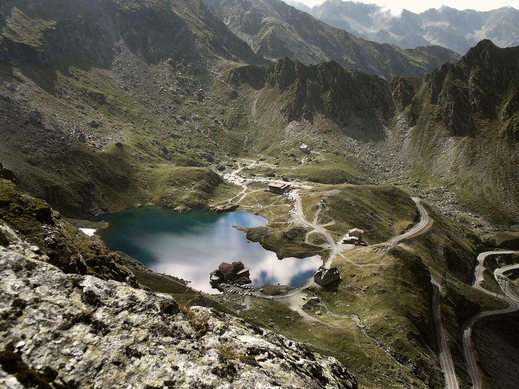 Bâlea lake, Fagaras, 2000 m altitude.