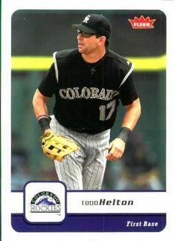 2006 Fleer #331 Todd Helton Front
