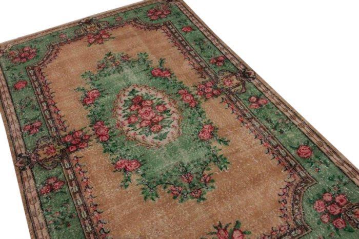Pastel vintage vloerkleed 270cm x 166cm | Rozenkelim.nl - Groot assortiment kelim tapijten
