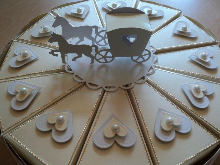 Geldgeschenke - hochzeitstorte/Geldgeschenk/Give Away/Hochzeit - ein Designerstück von Nachtkarten bei DaWanda