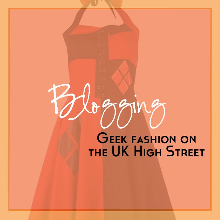 Geek on the High Street Pinterest board by Just Geeking By. The aim of this blog series is to find and highlight geeky products that can be found in normal high street stores in the UK. --- CLICK to view my the full blog series and check out the geeky fashion and accessories found on the UK High Street! ---   Photo and design by Heather, Just Geeking By.