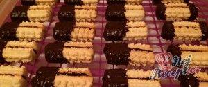 Tradiční vánoční kukuřičky v čokoládě