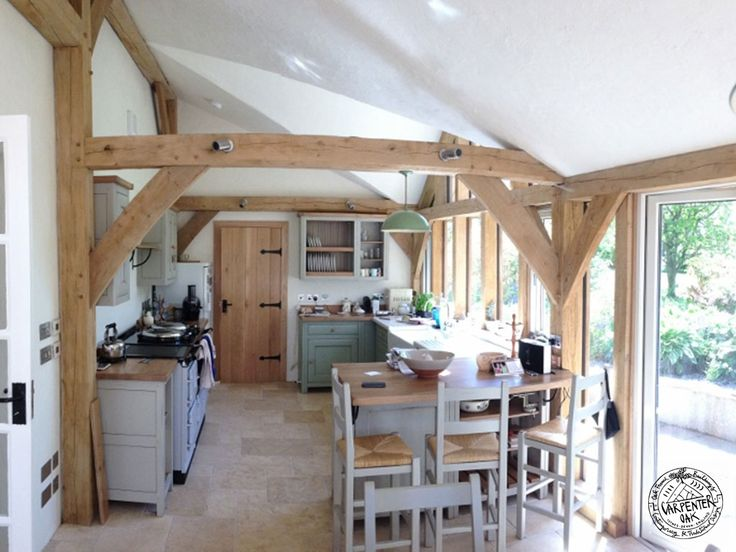 cottage extension and oak orangery - Google Search