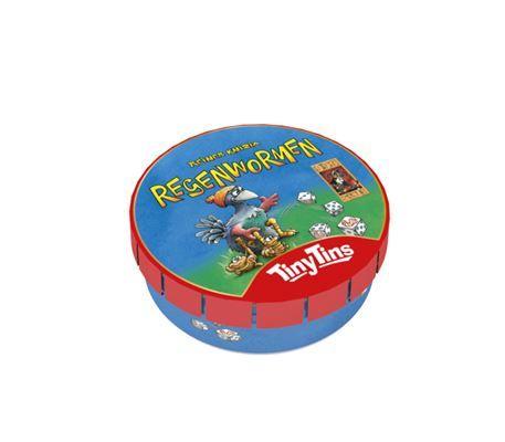 999 Games Tiny Tins: Regenwormen? Bestel bij Vrijbuiter! €4,99