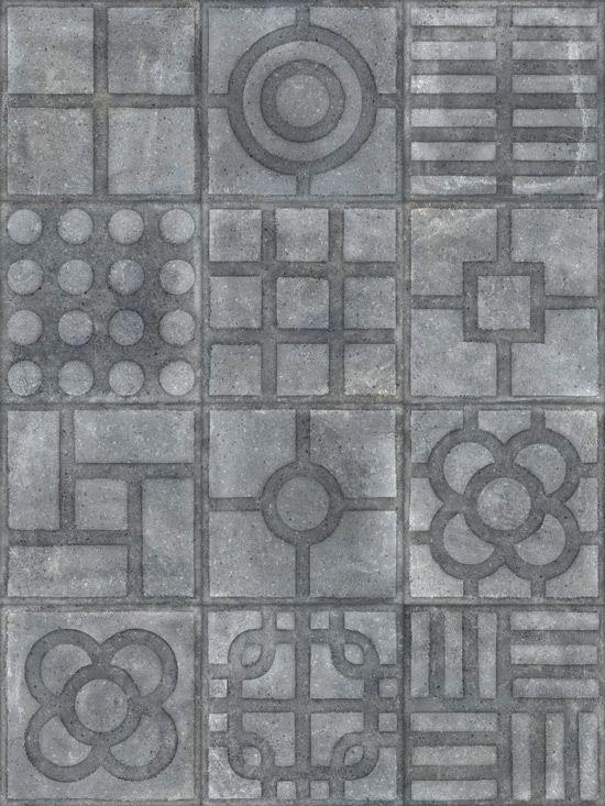 WORLD STREETS: Paulista Grafito - 20x20cm. | Pavimento - Porcelánico | VIVESAzulejosyGresS.A. #tile #porcelain #concrete