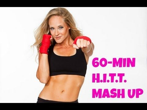 ▶ HIIT Mash Up (kickboxing, sculpting, HIIT, cardio, pilates, toning, fat burning) - YouTube