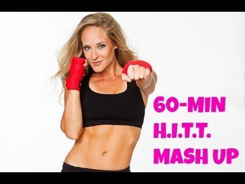 ▶ HIIT Mash Up (kickboxing, sculpting, HIIT, cardio, pilates, toning, fat burning) - YouTube