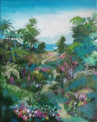 """Saatchi Art Artist Peter de Boer; Painting, """"Wavechaser"""" #art"""