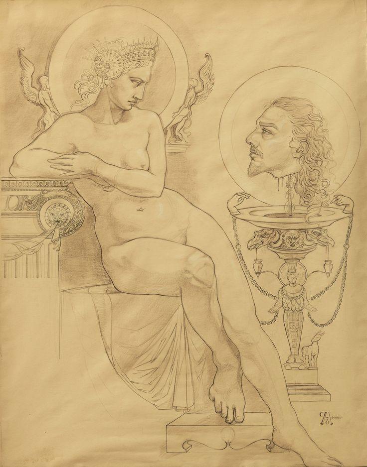 """Pasquale Abbatiello - """"Salomè con la testa del Battista"""" - 2007"""