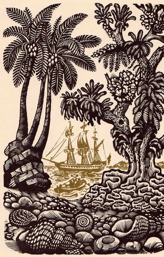 The Swiss Family Robinson by Johann, Wyss, illustrated with engravings by David Gentleman