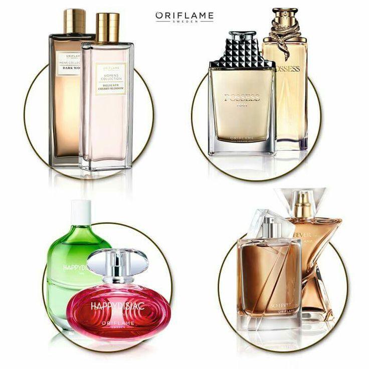 Fragancias para el y para ella. By Oriflame Cosmetics