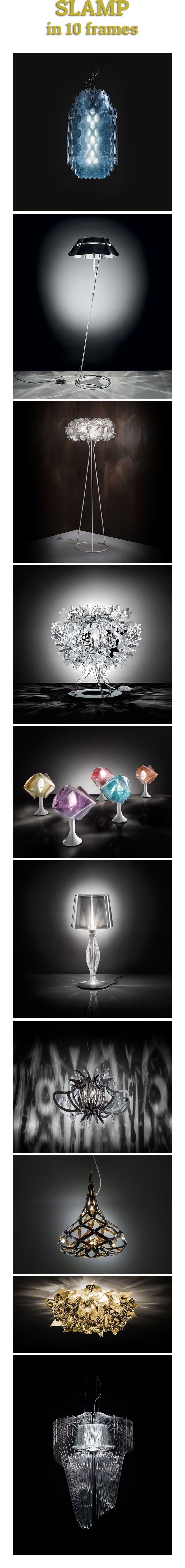 Slamp is a young firm, renowned in the field of lighting design for manufacturing extremely futuristic and dramatic pieces. | @slampSpa |