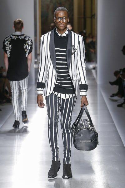 Balmain | Menswear - Spring 2018 | Look 15