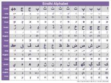 Sindhi alphabet - Sindhi language - Wikipedia, the free encyclopedia