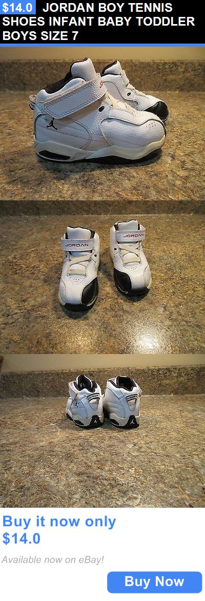 Baby Boy Shoes: Jordan Boy Tennis Shoes Infant Baby Toddler Boys Size 7 BUY IT NOW ONLY: $14.0