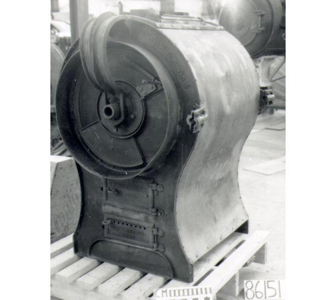Torréfacteur à café de Parsons Bros. fait en 1880 à Ypsilanti, Michigan, É-U