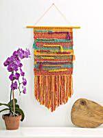 Image of Loom Woven Fiesta Wall Hanging