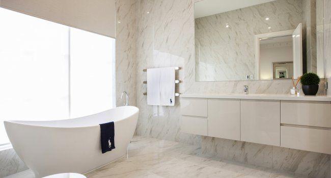A free standing bath is always a stylish option..
