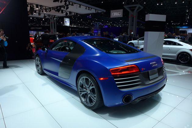 2018 Audi RS8 rear