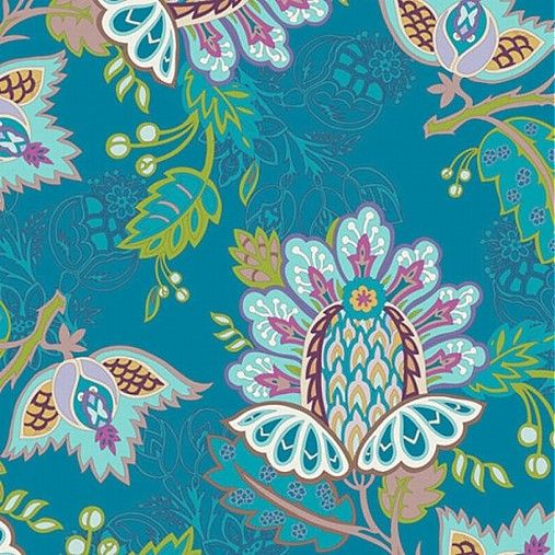 JaponskaZahrada / Látka Exotic flora