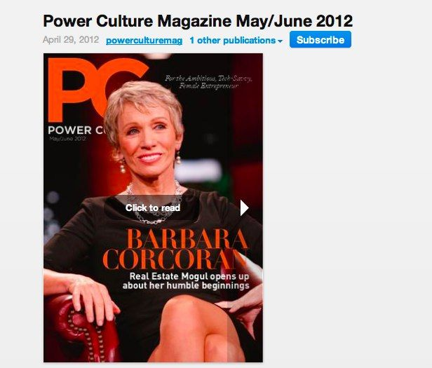"""Our leading lady, Kate Walling, has an article featured in the May/June 2012 edition of Power Culture, a magazine for the ambitious, tech-savvy, female entrepreneur published by the Women CEO Project.    Her piece is titled, """"Start a business…the Scrappy way!"""" and it is about a topic that she's built an entire business around – helping entrepreneurs and small businesses start.: Small Business"""