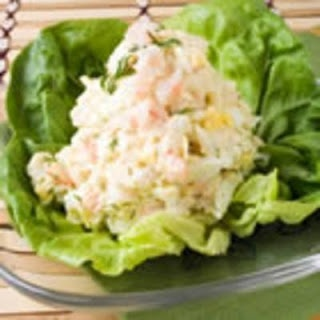 Shrimp Egg Salad sandwich