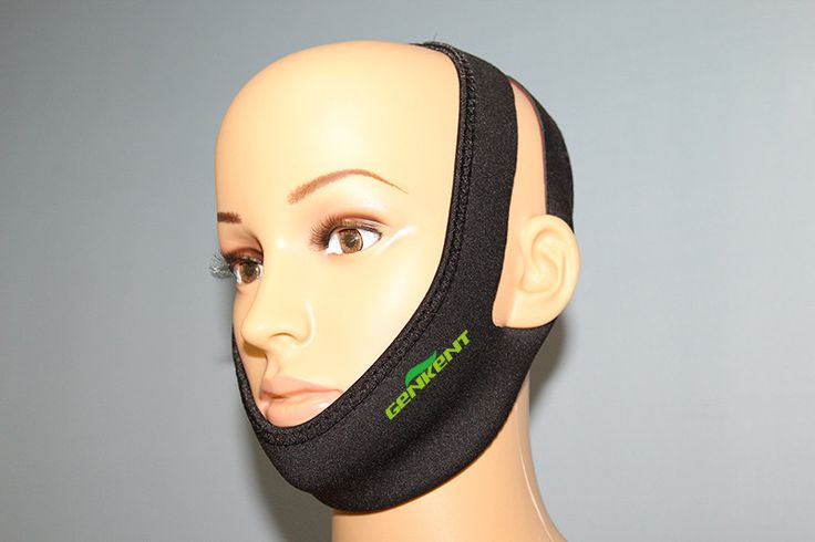 Anti Snore Chin Strap Belt Jaw Sleep Supporter