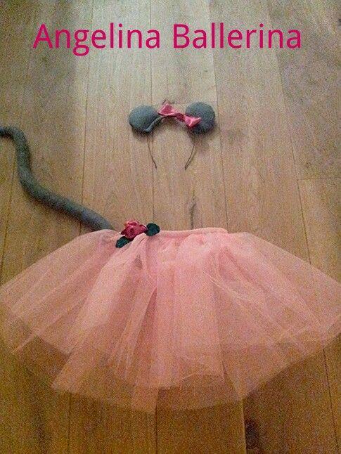 angelina ballerina costume for little girls Ik zie ons meisje al stralen met carnaval!