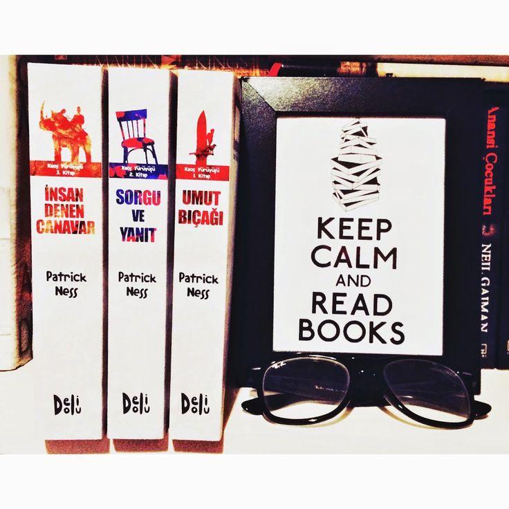 Renkli Kitap: Yeni Kitaplar: Kaos Yürüyüşü Serisi - Patrick Ness...