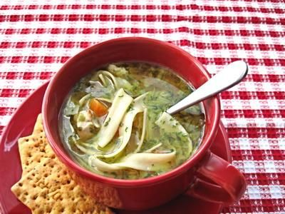 Ina Garten easy chicken noodle soup