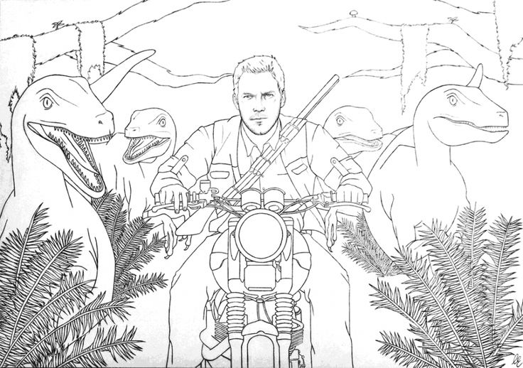 Jurassic World Coloring Pages - coloring.rocks! in 2019 ...