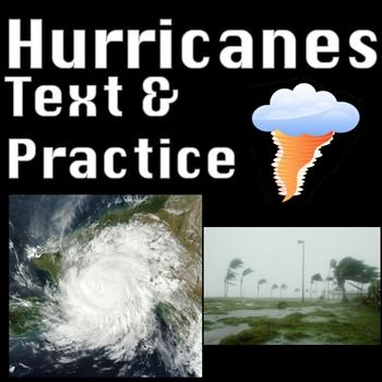 HURRICANE JOAQUIN: Engage students in hurricane knowledge. Students will read about hurricanes in an originally written hurricanes informational text passage, creatively name their own hurricanes, determine hurricane damage, and research hurricanes locations.